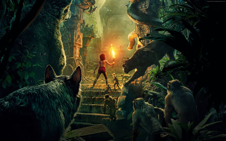 Книга джунглей фильм 2017 года   nрейлер