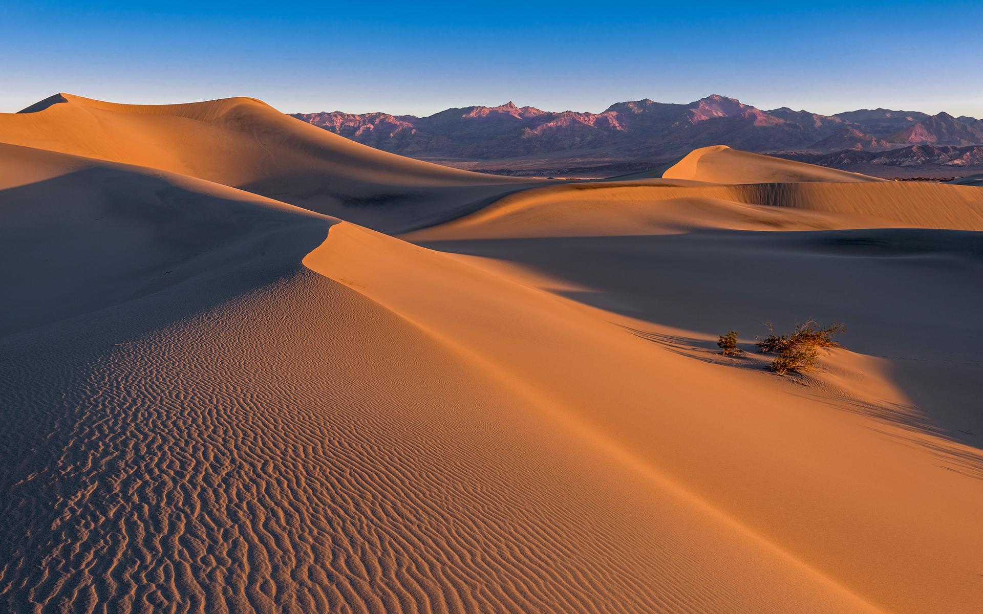 песчаные горы в пустыне  № 3605939 загрузить