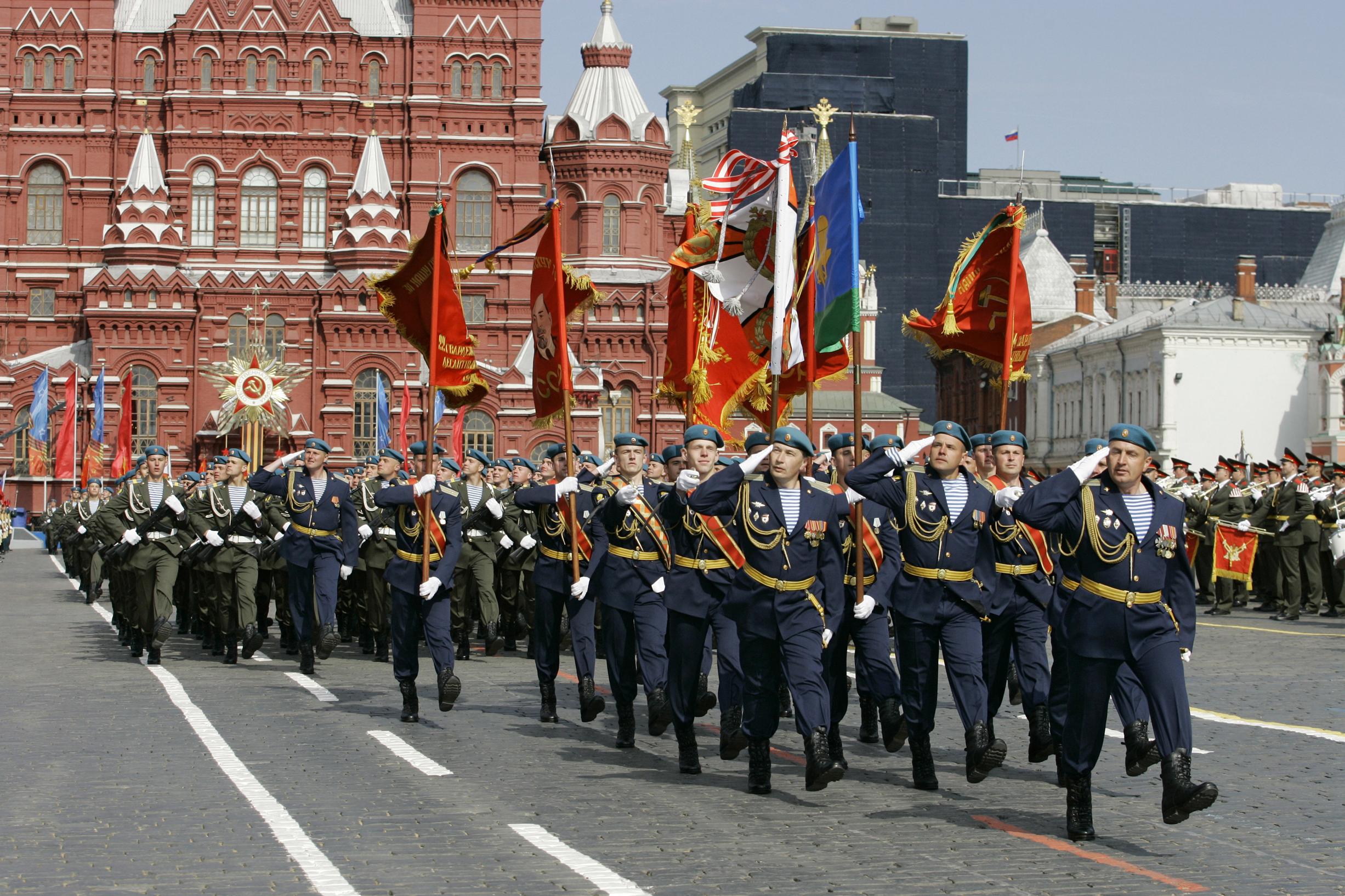 Парад Победы в Москве - YouTube