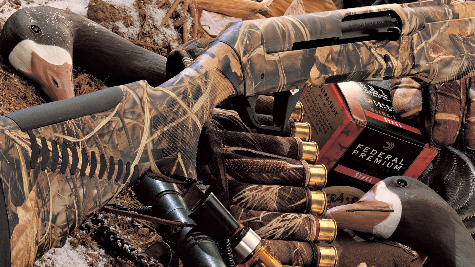 Обои на рабочий стол охота и ружья