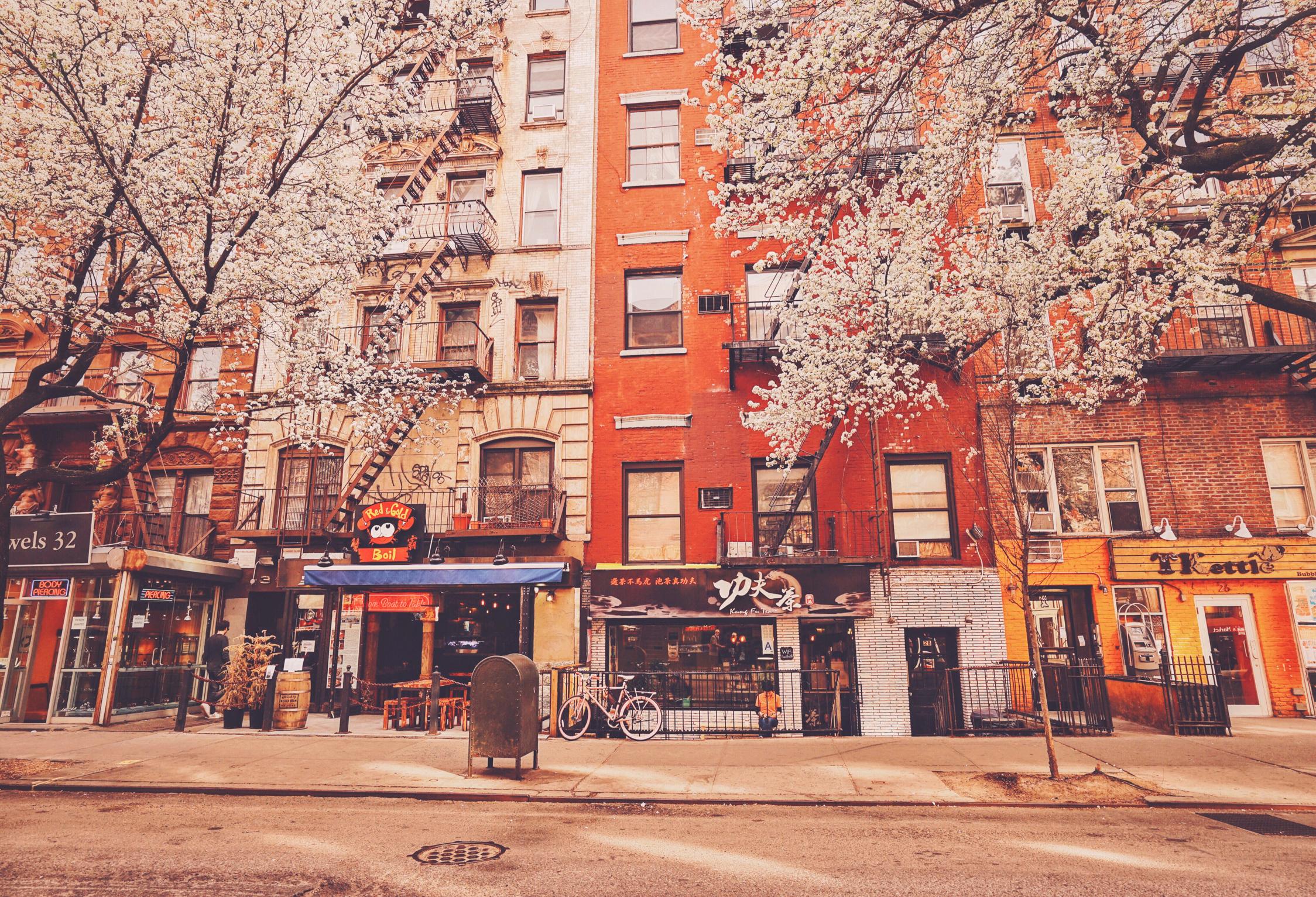 улочка в Нью-Йорке  № 1431645  скачать
