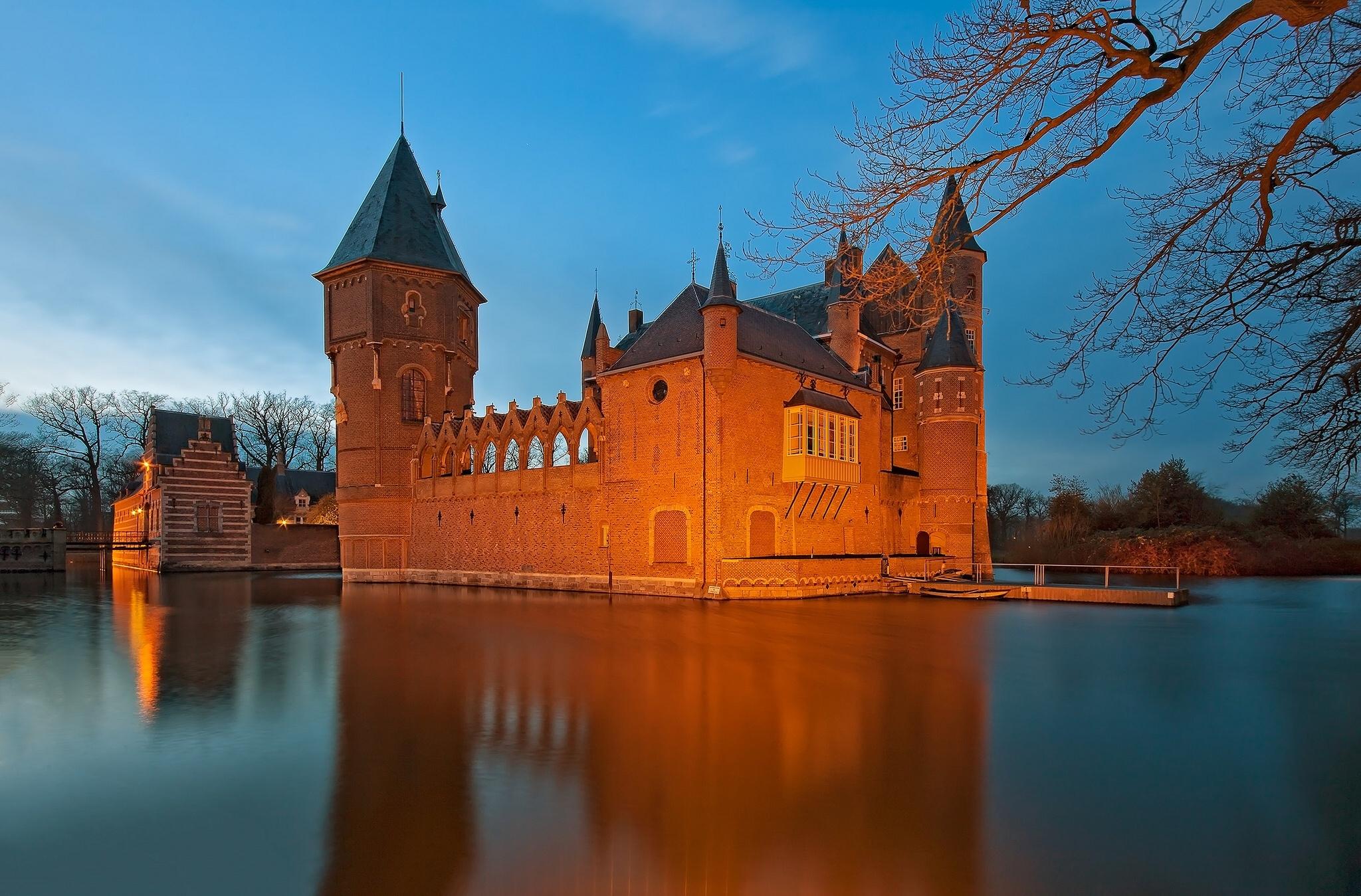 замок на воде  № 158507 бесплатно