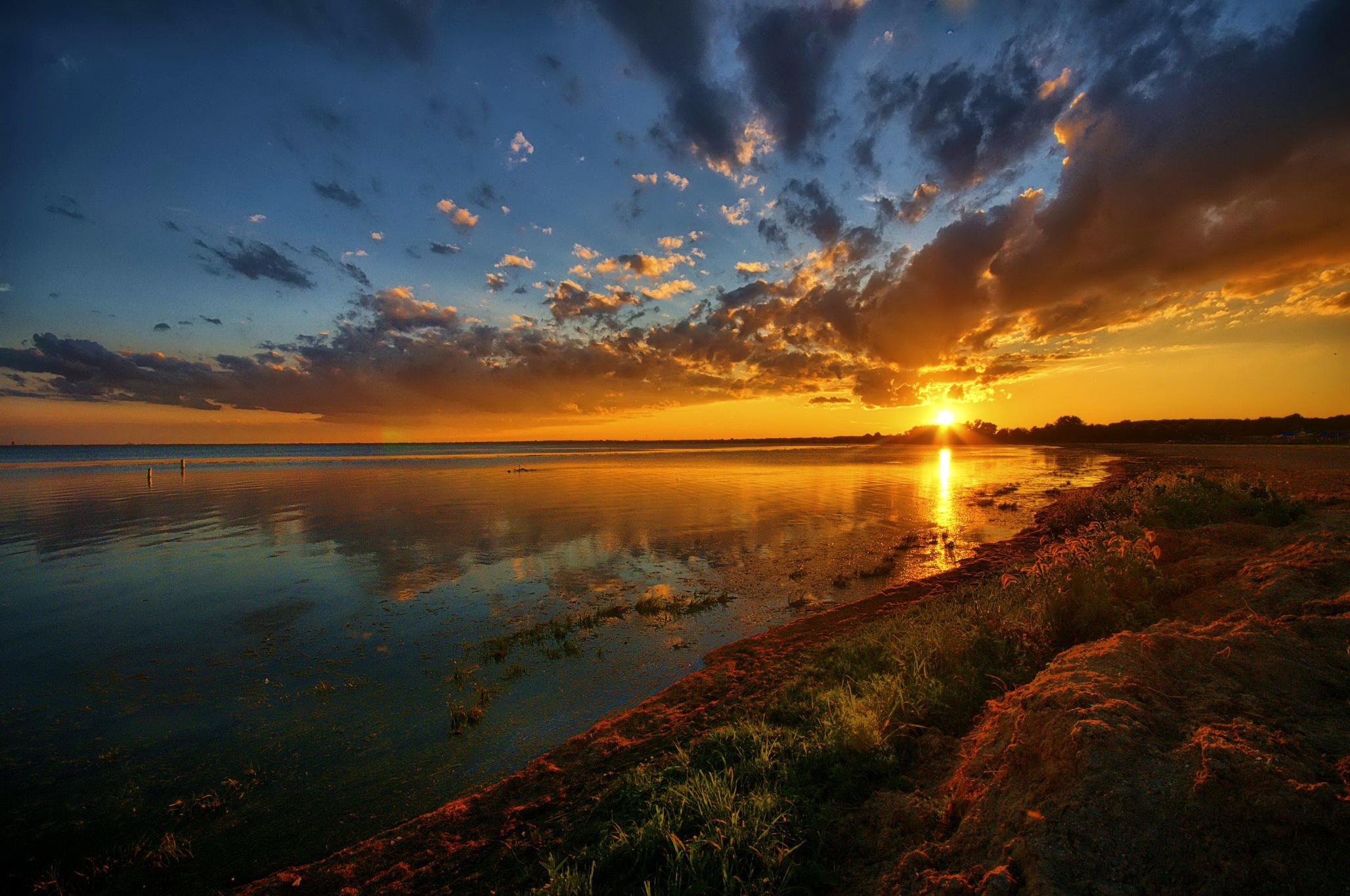 Закаты самые красивые фото