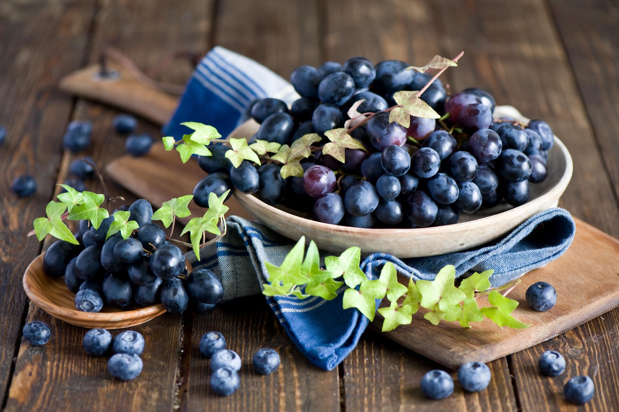 еда чай пирожные виноград  № 377999 бесплатно