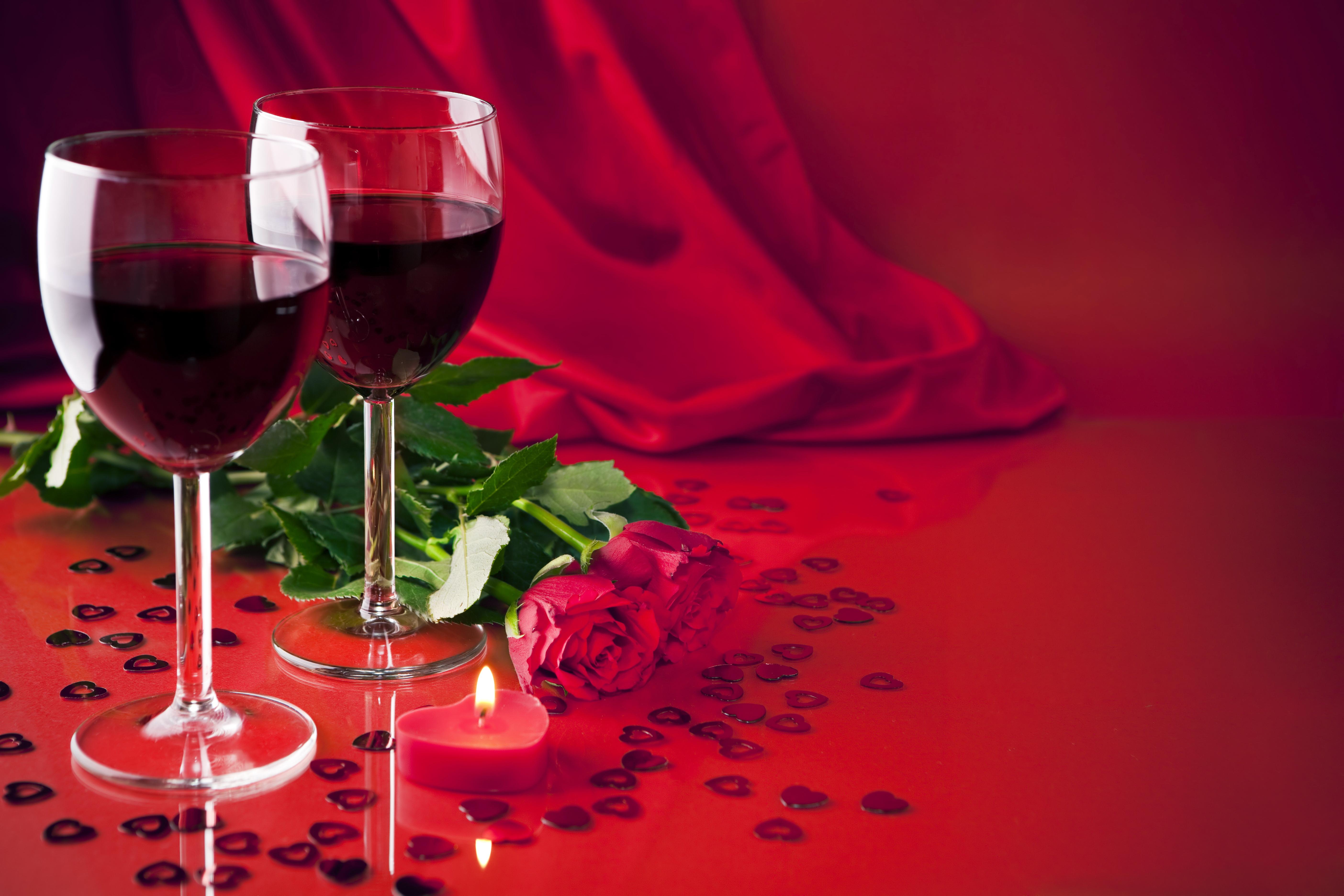 Rose wine wallpaper