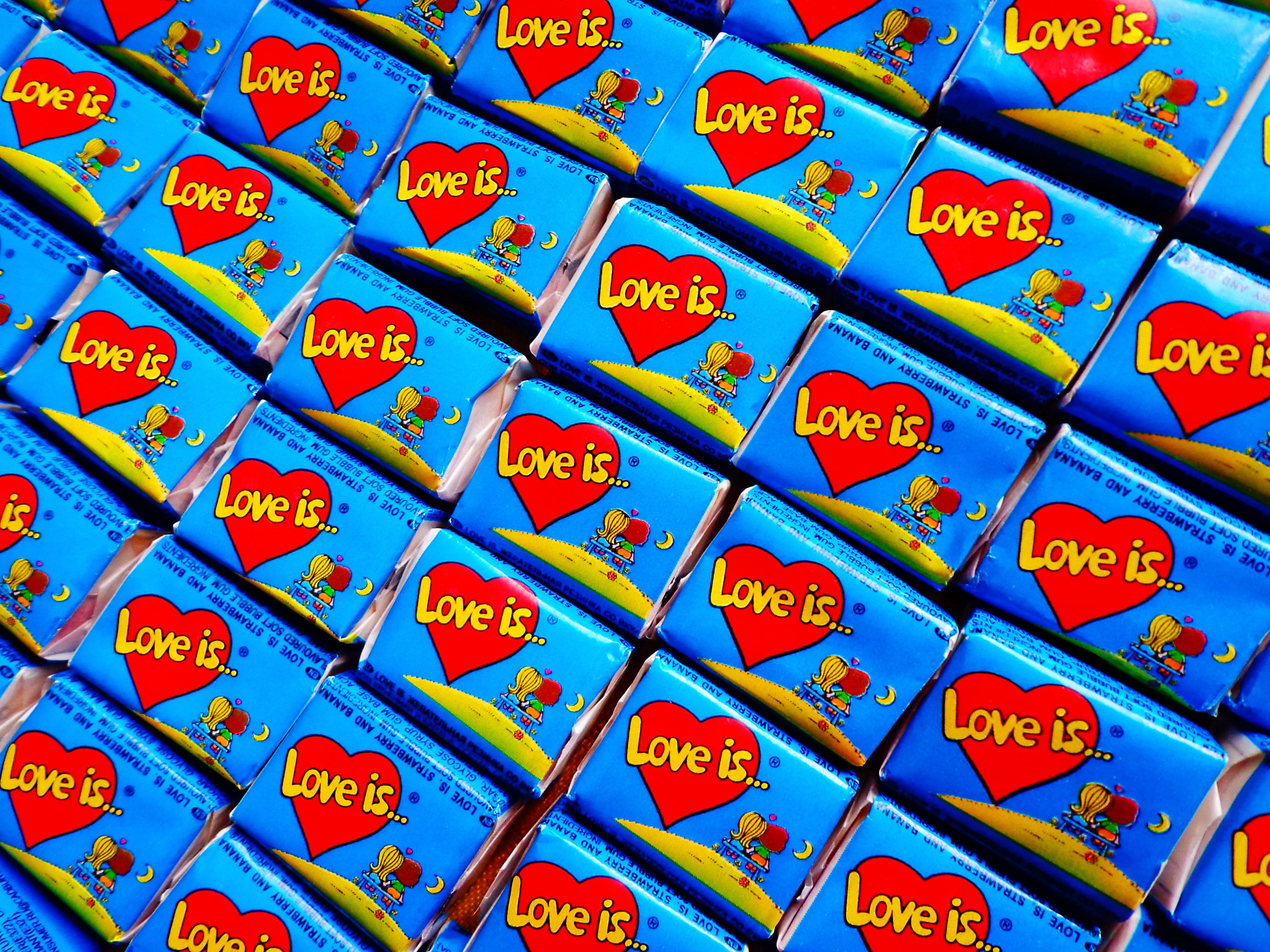 Love is  № 1605361 бесплатно