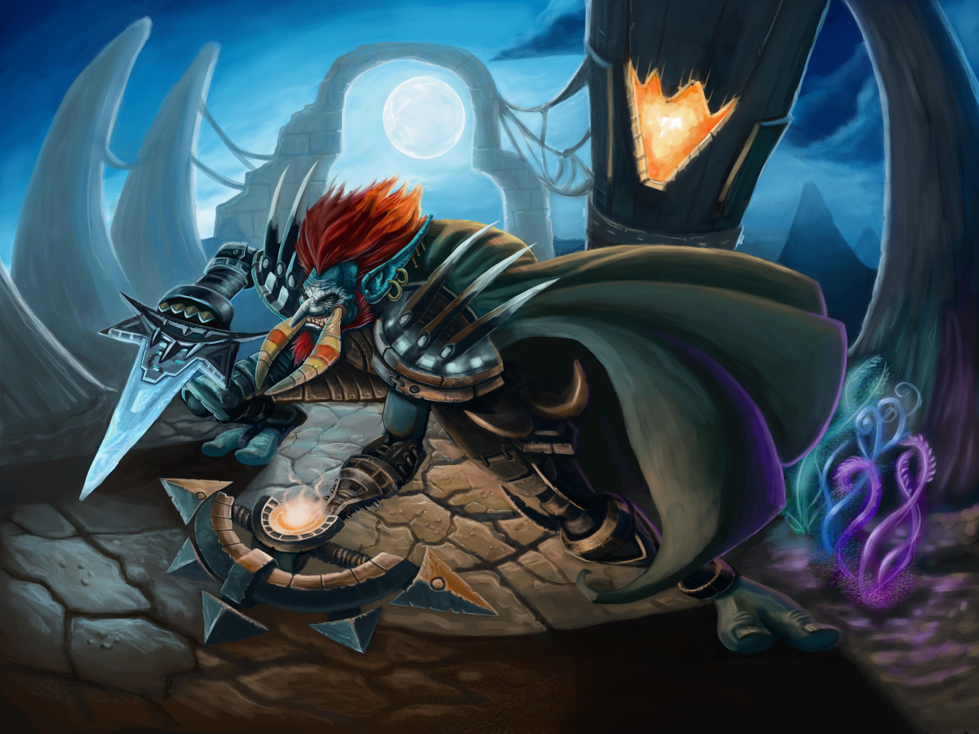 Warcraft troll wallpaper fucking tube