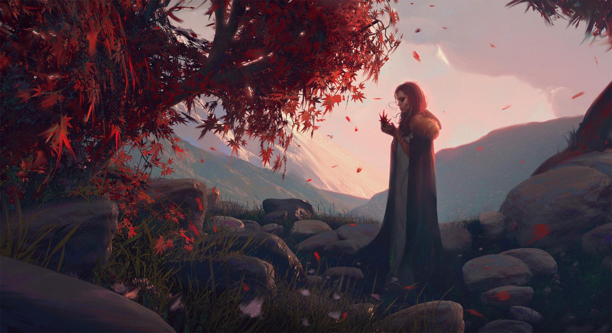 Фото рыжая девушка фэнтези 21 фотография
