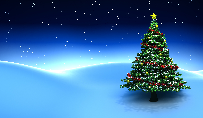 Три новогодние ели  № 1417130 загрузить