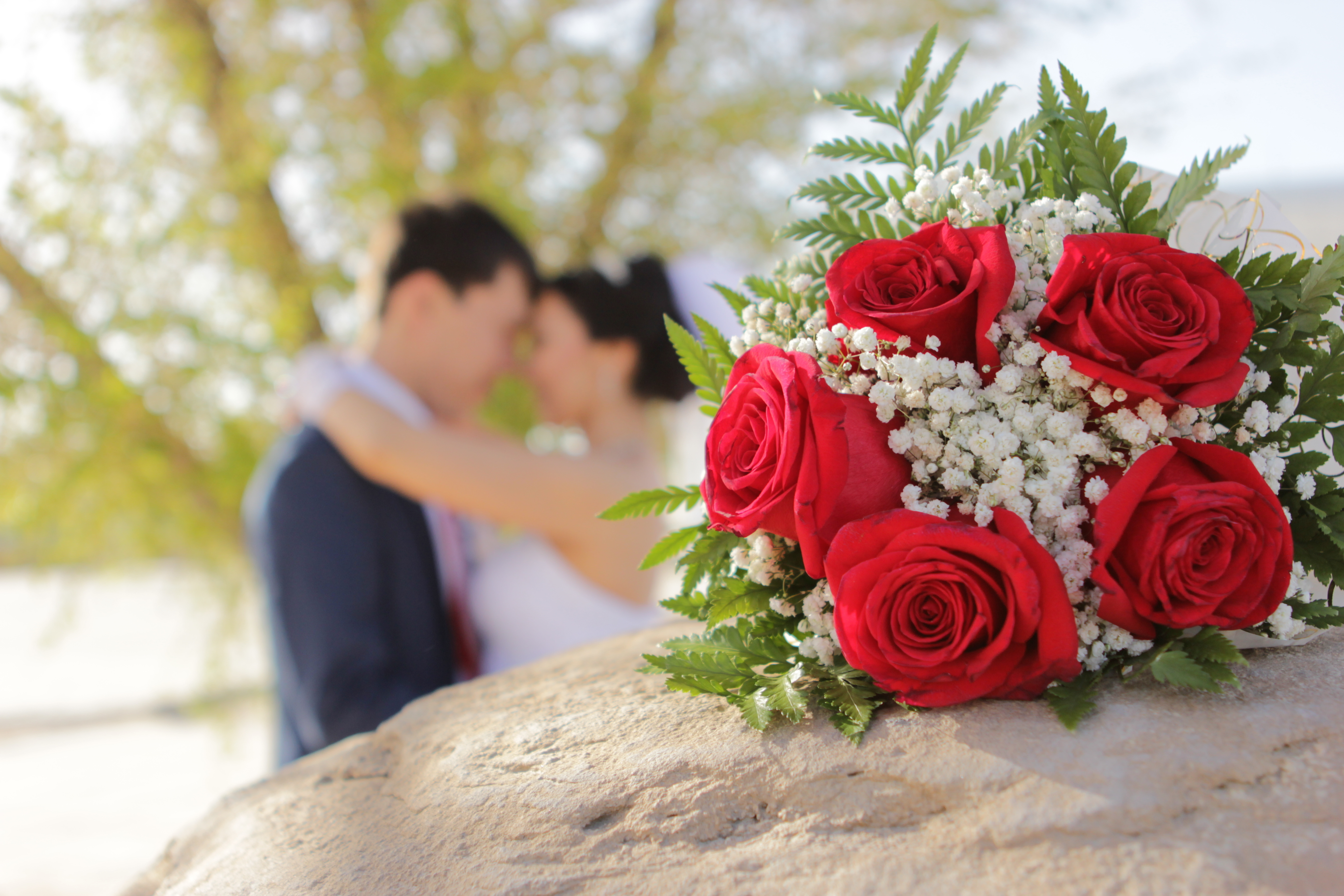цветы жених и невеста фото: