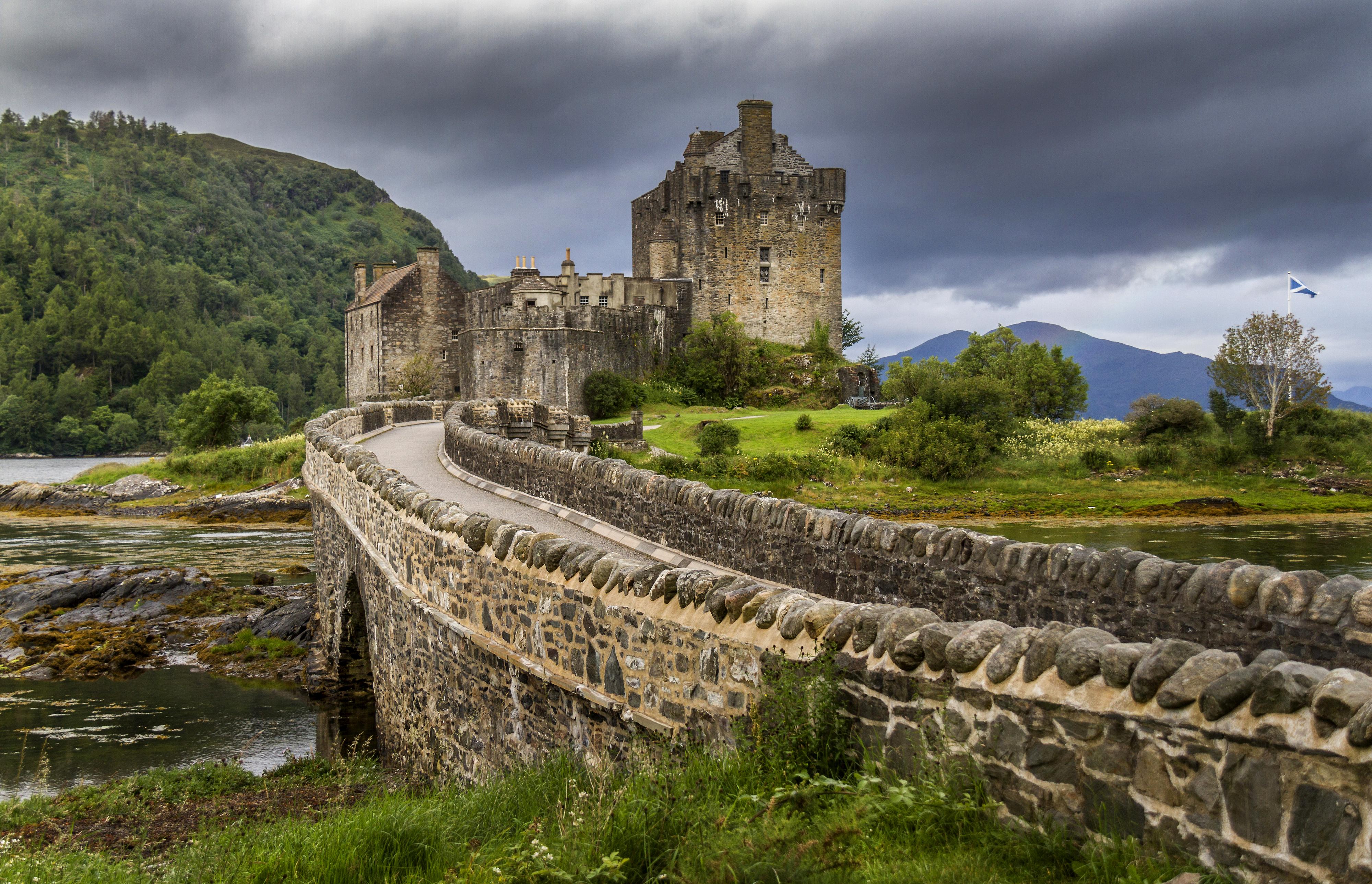 Шотландский каменный забор  № 2453266 загрузить