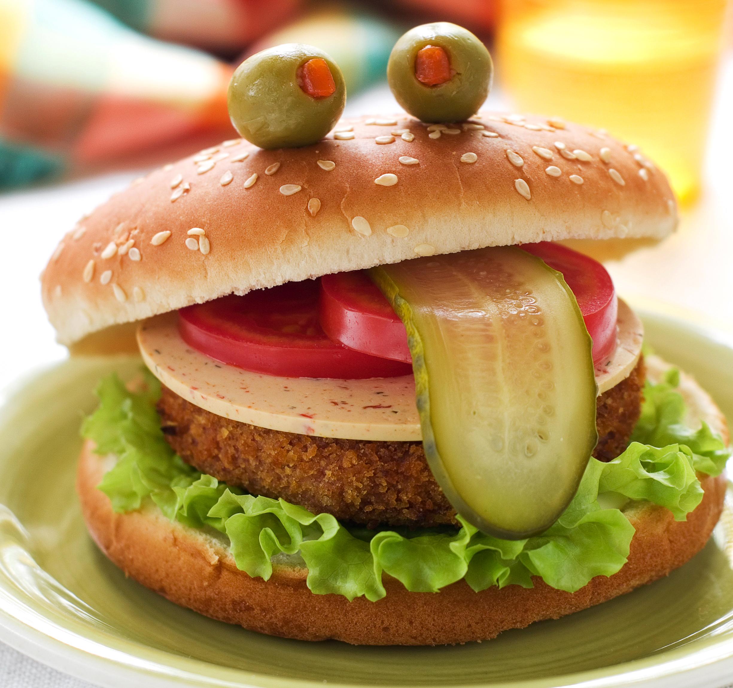 Бургер для детей рецепт