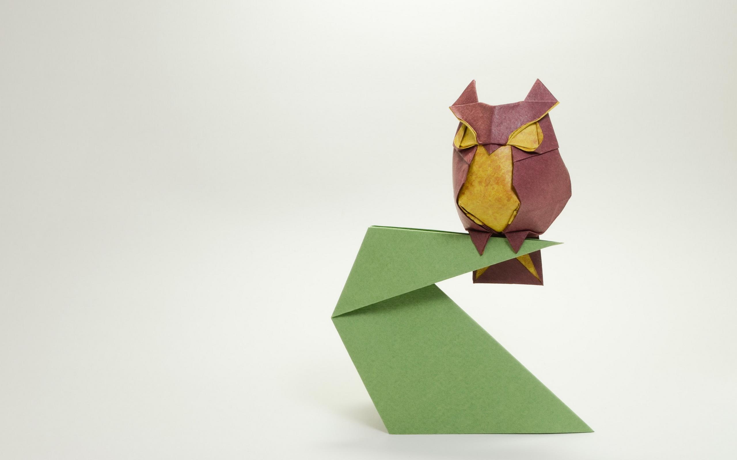Как из бумаги сделать сову поэтапно