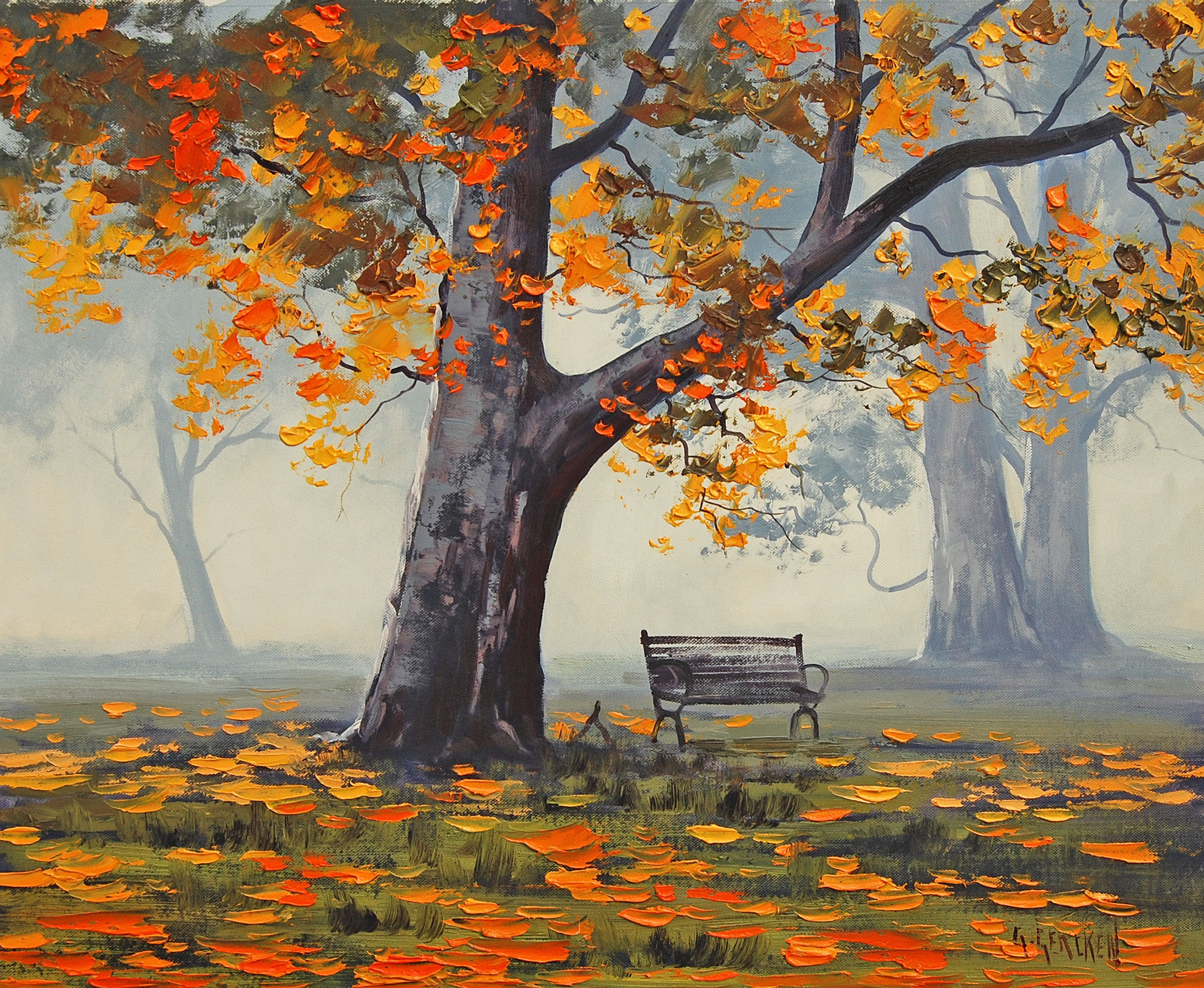 Рисунки для рисования осень