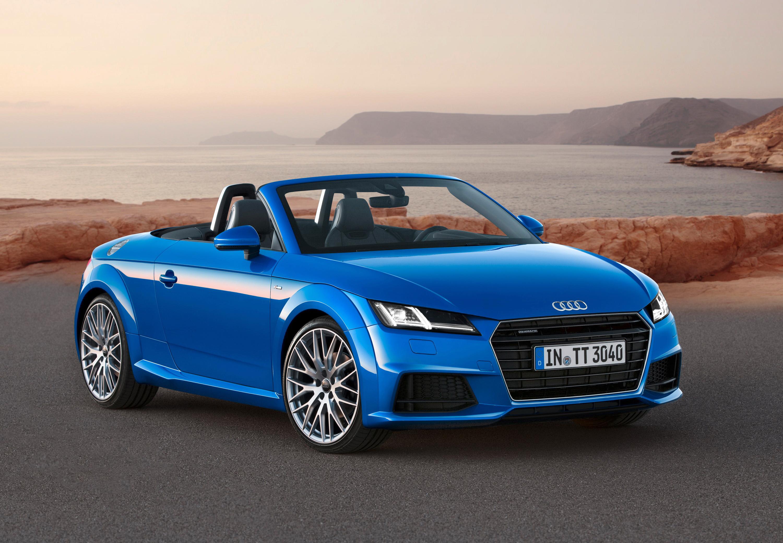 Audi tt roadster фото