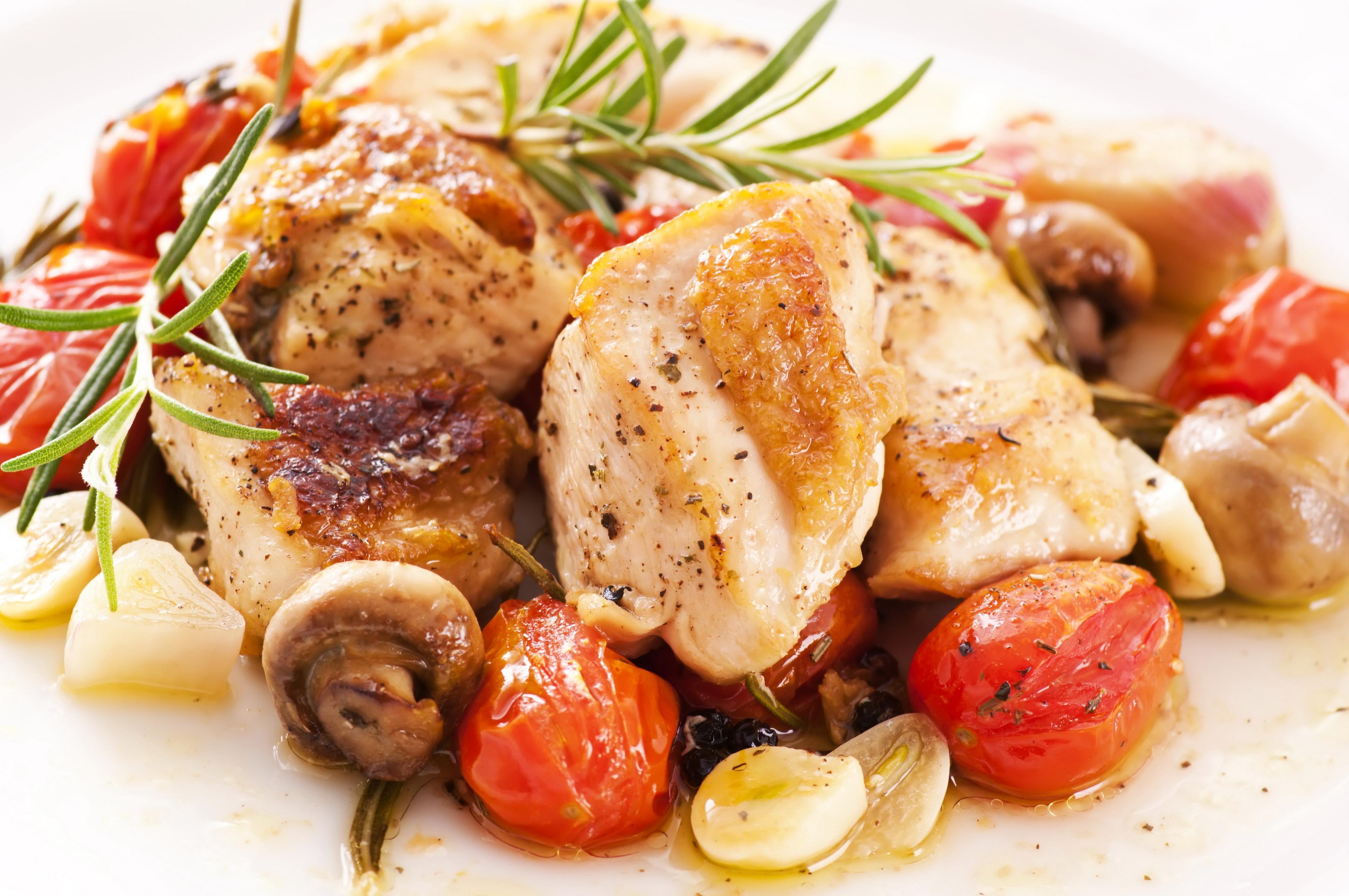 Блюда из курицы для ресторана рецепты