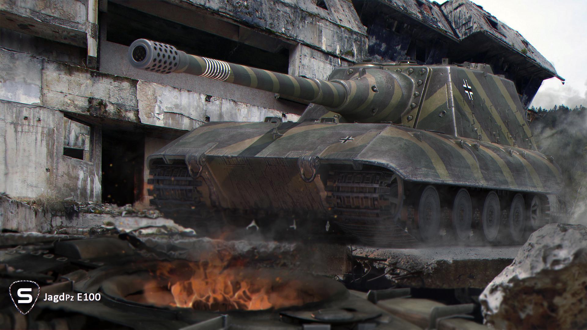World of tanks танки е-100 alligator игры 3d графика фото wot обои картинки скачать на рабочий стол