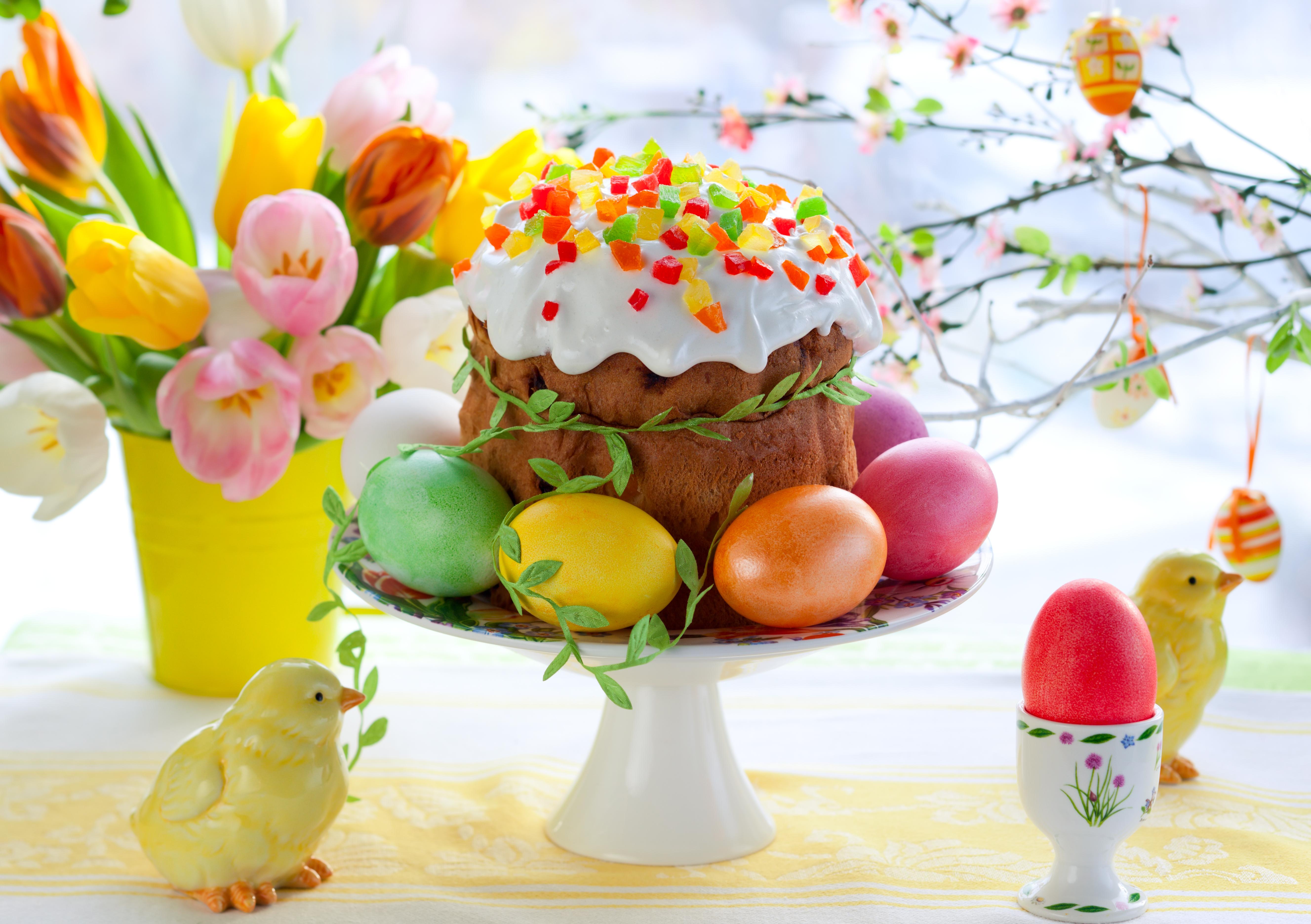 праздник пасха кулич яйца  № 2646751 бесплатно