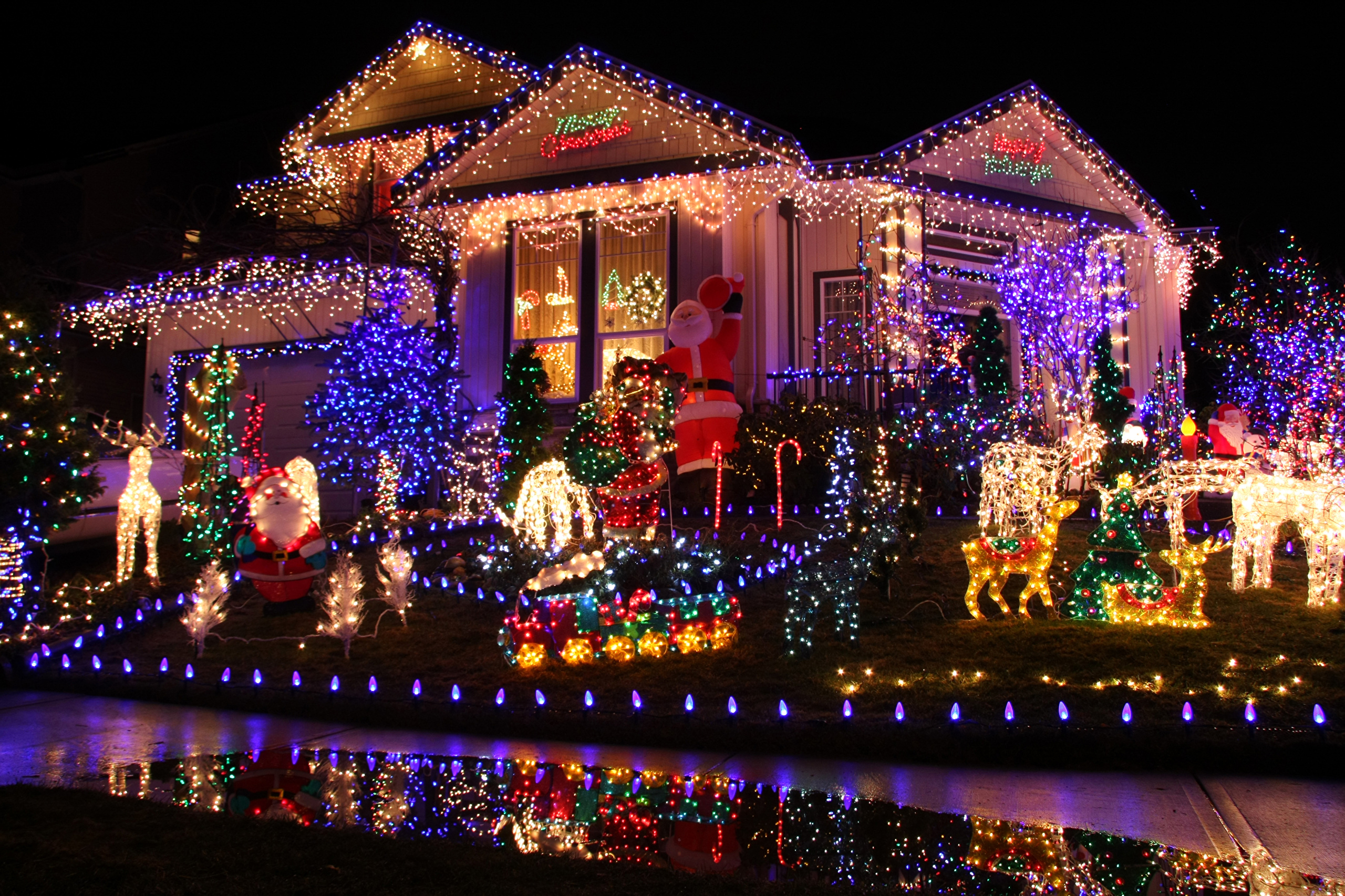 Частный дом на праздники