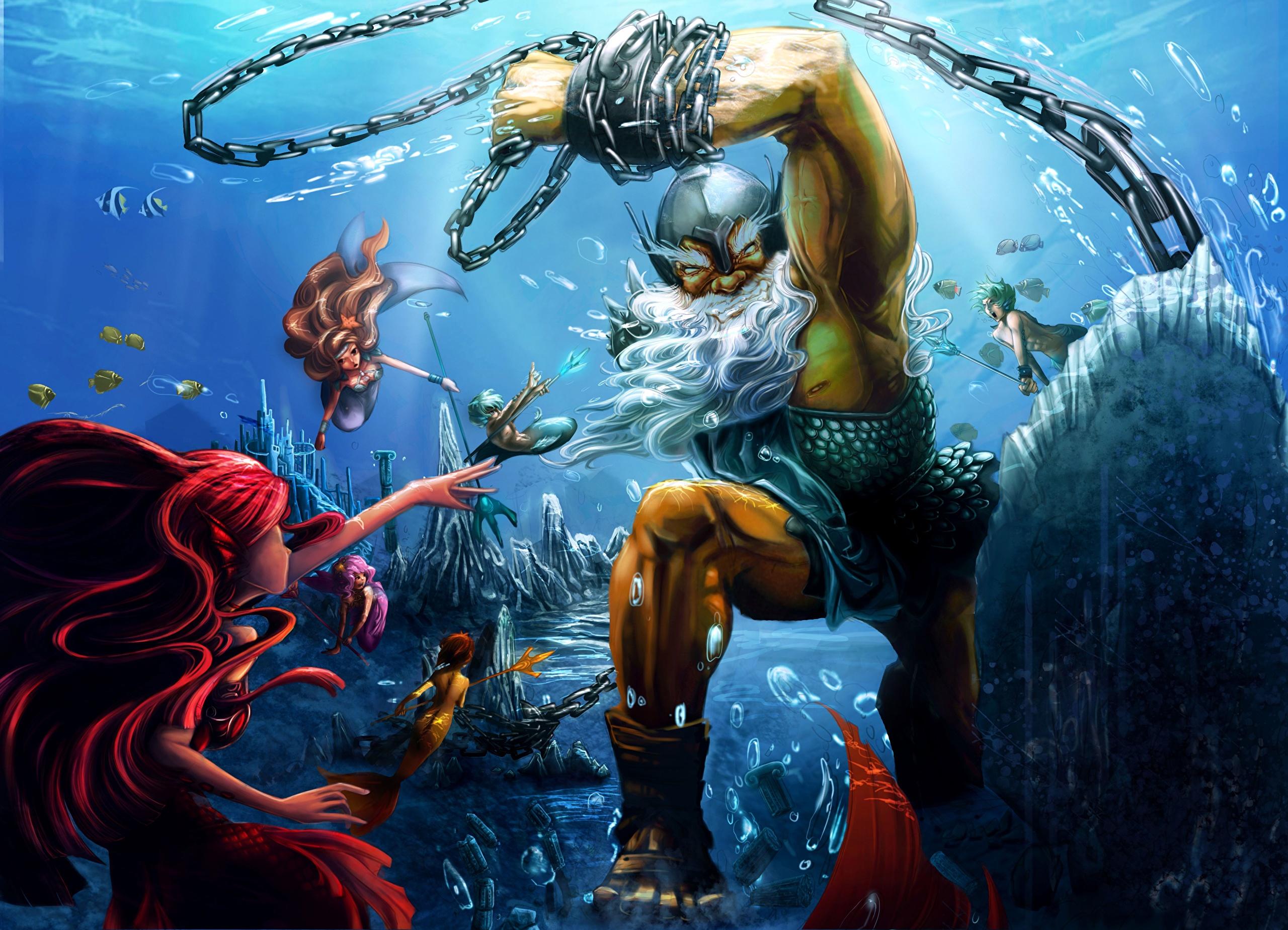 Графика под водой  № 2252468 загрузить