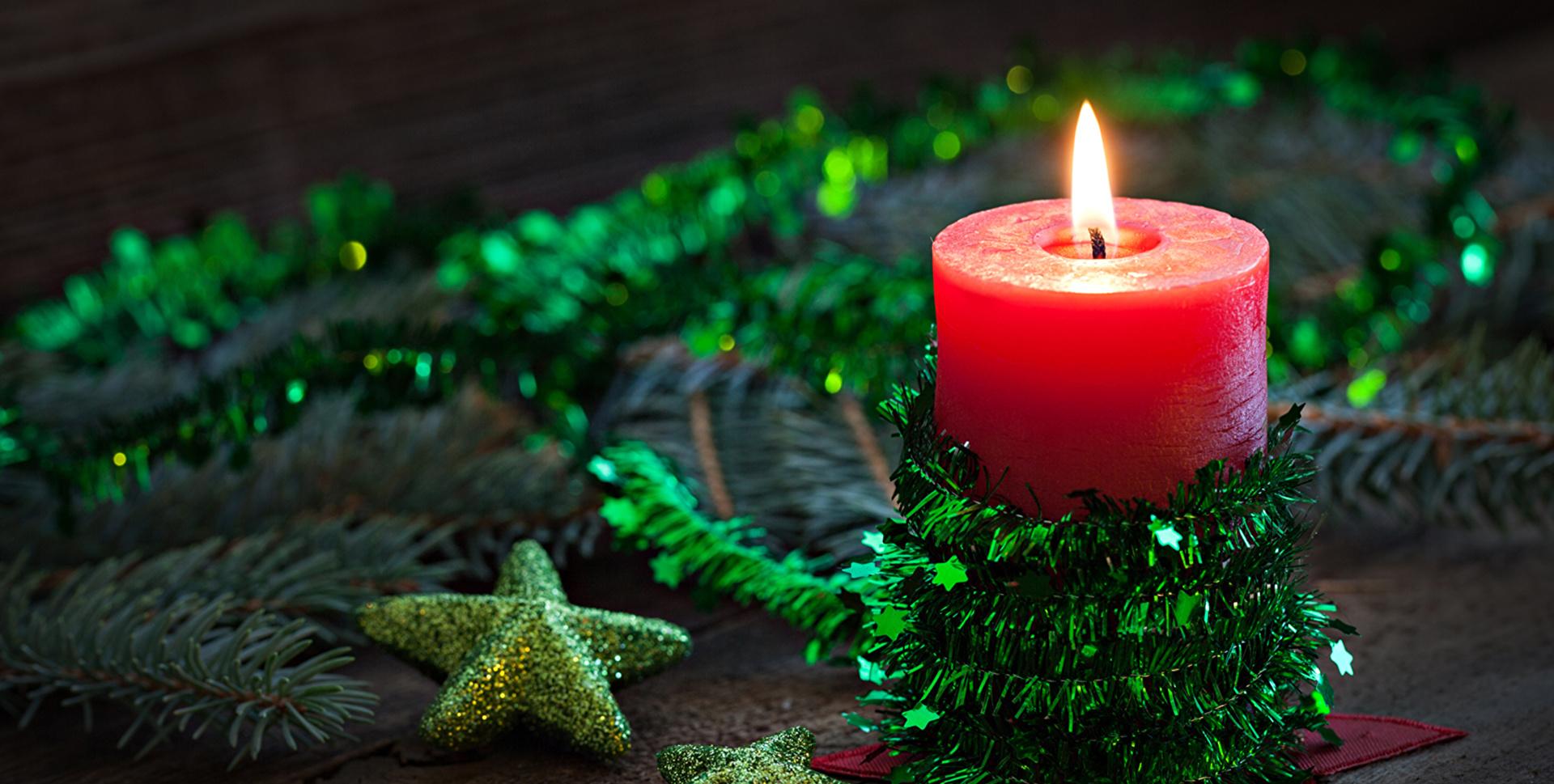 Свечи новый год  № 1395221 загрузить