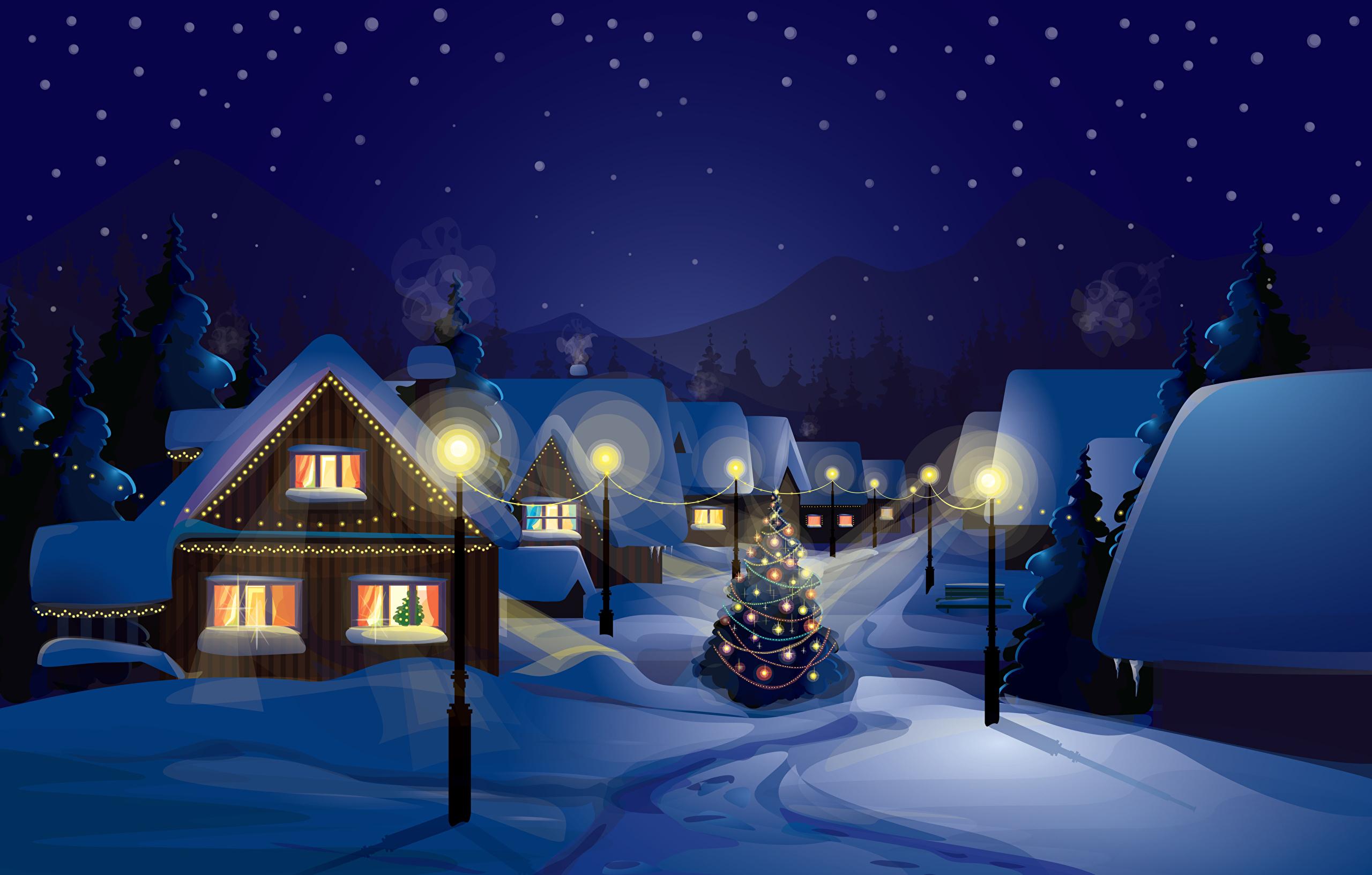 рождество новый год Christmas new year  № 2656630  скачать