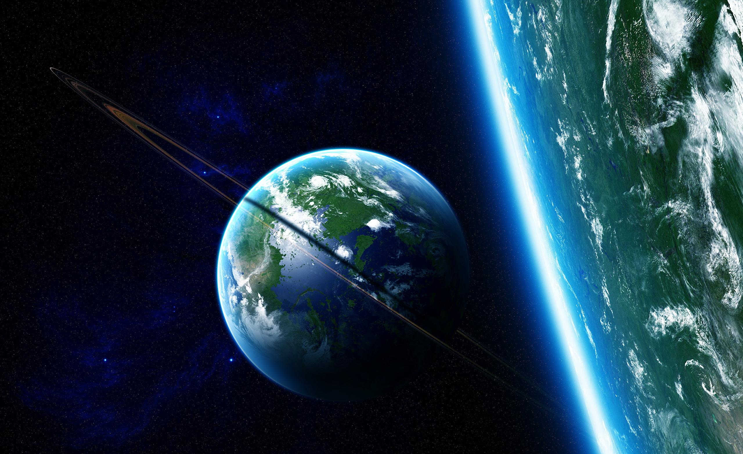 Обои планета космос орбита картинки на рабочий стол на тему Космос - скачать  № 1757073  скачать