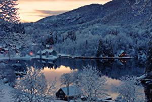 Обои Озеро Природа