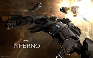 Обои EVE online Корабли Manticore Игры Космос Фэнтези 3D_Графика фото