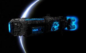 Обои Техника Фэнтези Планеты Корабли Фэнтези Космос фото