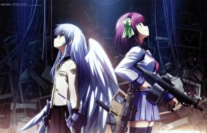 Обои Angel Beats! Аниме