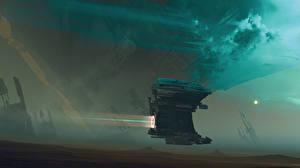 Обои Корабли Sci-Fi Фэнтези Космос фото
