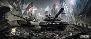 Обои Танки Armored Warfare Игры фото