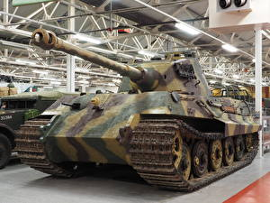 Обои Танки King Tiger, Tankfest 2015 Армия фото