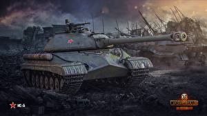 Обои World of Tanks Танки IS-5 Игры фото