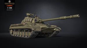 Обои World of Tanks Танки Т-10М Игры 3D_Графика фото