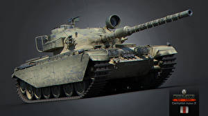 Обои World of Tanks Танки Centurion Action X Игры 3D_Графика фото