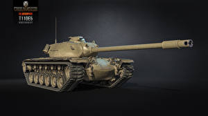 Обои World of Tanks Танки T110E5 Игры 3D_Графика фото