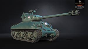 Обои World of Tanks Танки M4A1 Revalorise Игры 3D_Графика фото