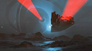 Обои Корабли Фэнтези Космос фото