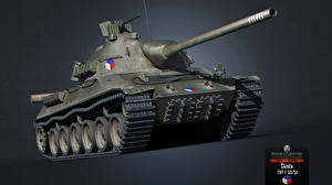 Обои World of Tanks Танки Skoda TVP T 50/51 Игры 3D_Графика фото