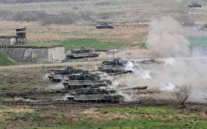 Обои Танки Поля Армия фото