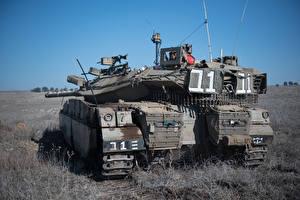 Обои Танки Merkava Mk.3 Армия фото