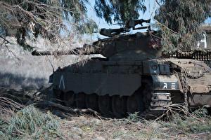 Обои Танки Merkava Армия фото