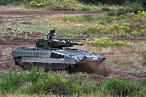 Обои Танки Schützenpanzer Puma Bundeswehr Армия фото
