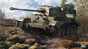 Обои World of Tanks Танки Cromwell Игры фото