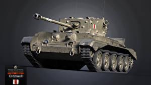 Обои World of Tanks Танки Cromwell Игры 3D_Графика фото