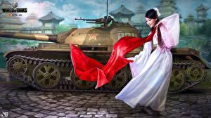Обои World of Tanks Танки Nikita Bolyakov Type-59 Игры фото