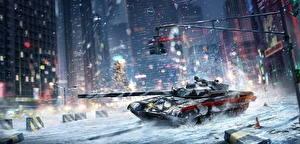 Обои Armored Warfare Танки Игры фото