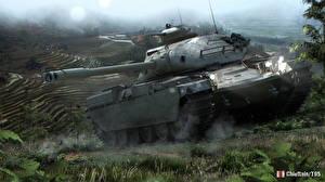 Обои World of Tanks Танки Chieftain T95 Игры фото